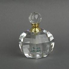 Parfüm-Flasche Facette Rund