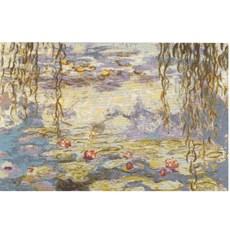 Wandteppich Die Seerosen