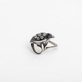 Klatschrose Ring