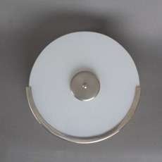 Treppenhausleuchte Circle Gebürtstet Nickel