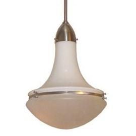 Wissmannlampe in Opal und/ oder Geätzt Glas Ø 32