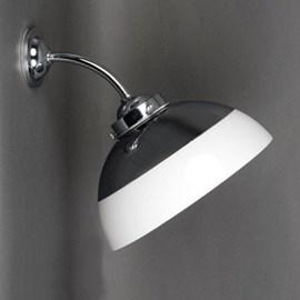 Außen/ Grosse Badezimmer Wandleuchte Halbkugel Ø 30 cm