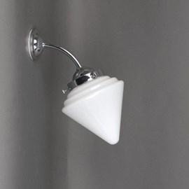 Außen/ Grosse Badezimmer Wandleuchte Spitz Kegel