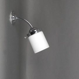 Außen/ Grosse Badezimmer Wandleuchte Zylinder