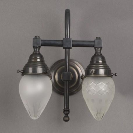 badezimmerleuchte ellipse 2 lampen gro en bogen. Black Bedroom Furniture Sets. Home Design Ideas