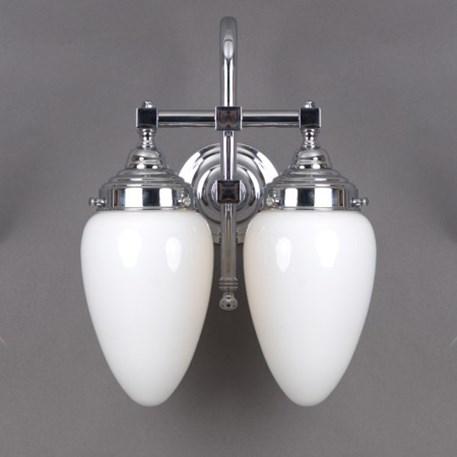 badezimmerleuchte menhir 2 lampen gro e b gen. Black Bedroom Furniture Sets. Home Design Ideas