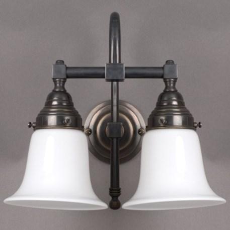 badleuchte kelch 2 lampen gro e b gen. Black Bedroom Furniture Sets. Home Design Ideas