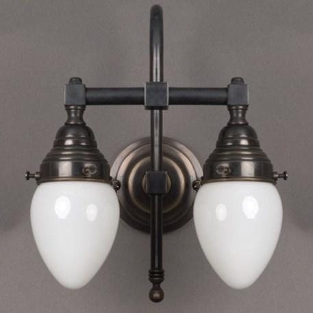 badleuchte egg 2 lampen mit gro e b gen. Black Bedroom Furniture Sets. Home Design Ideas