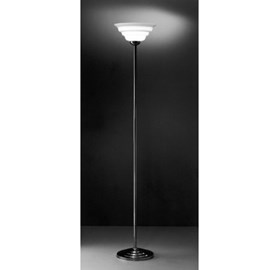 Stehlampe Welle