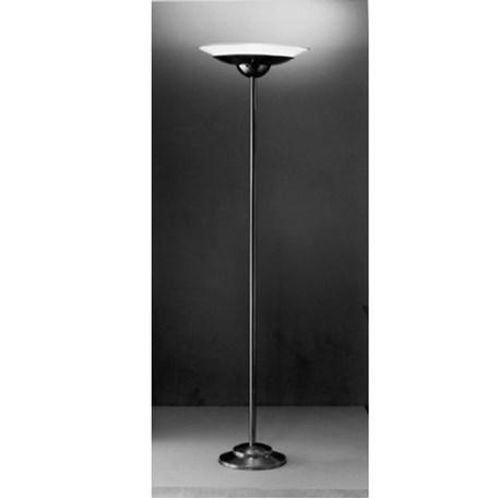 stehlampe mit metall lampenschirmhalter. Black Bedroom Furniture Sets. Home Design Ideas
