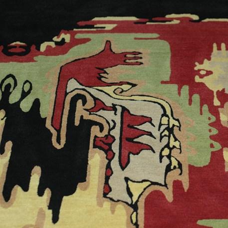 Art deco teppich amsterdamer schule - Art deco teppich ...