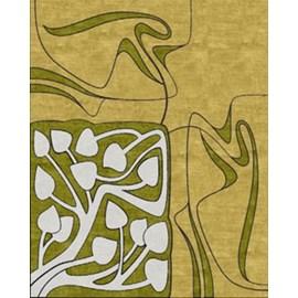 Art Nouveau Teppich Floral