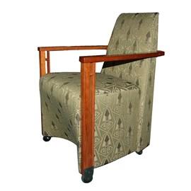 Art Deco Esszimmer Stuhl Cason
