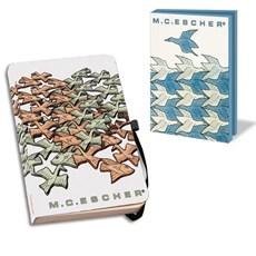 Notizbuch & Karte-mappe Escher | Tieren