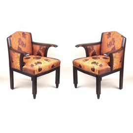 2er Set Authentische Amsterdamer Schule Sessel