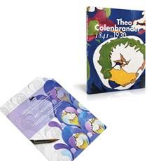 Set Buch Theo Colenbrander & Art Nouveau Colouring Book