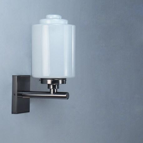 wandleuchte opal zylinder spitzer treppe. Black Bedroom Furniture Sets. Home Design Ideas