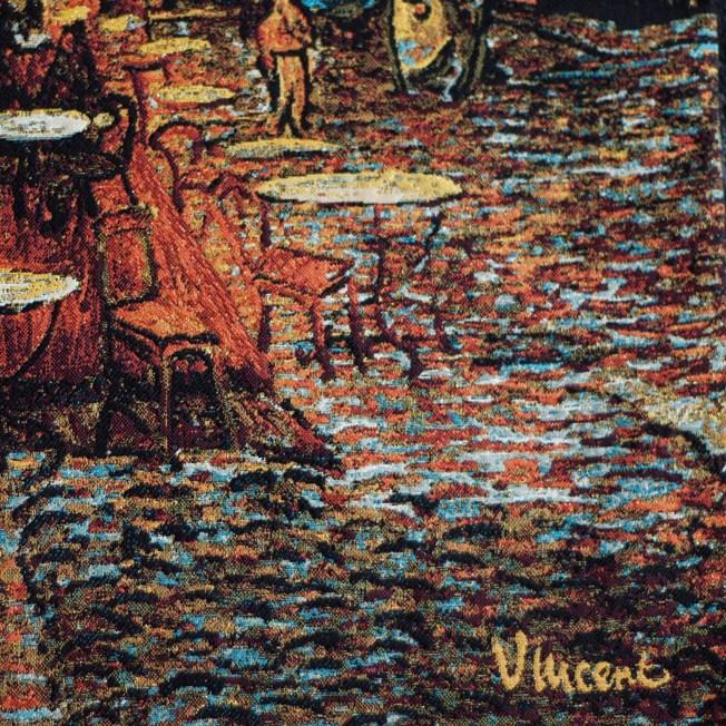 Wandteppich Café Terrasse bei Nacht   Vincent van Gogh