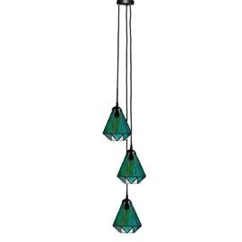 Tiffany Kronleuchter Arata Green 3