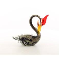 Glasskulptur Wasservogel