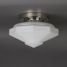 Deckenlampe 9-ecke Matt Opal