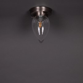 Deckenlampe Menhir Bubble Transparent