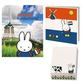 Geschenkset Miffy in den Niederlanden