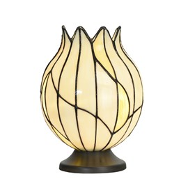 Tiffany Tischlampe Nature Offen